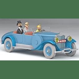 Carro Colección  1/24Th #10 - Lincoln Model  Tintin con Urna