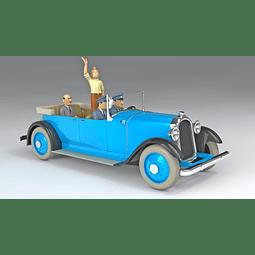 Carro Colección  1/24Th #19 - Chrysler Imperial  Tintin con Urna