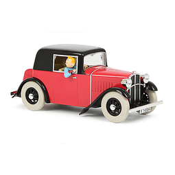 Carro Colección  1/24Th #16 - The Rosengart  Tintin con Urna