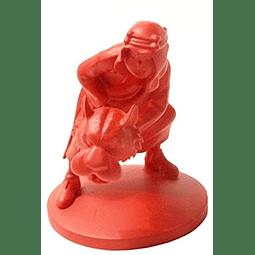 Moulinsart Figura de colección Tintín Abdallah Rojo Monocromo (42161)