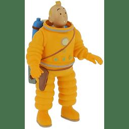 Figura Colección Pvc Tintín cosmonauta 8cm 42505 (2019)