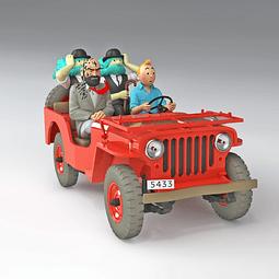 Carro Colección   1/24E #47 - Desert Jeep Willys con urna