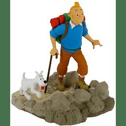 Figura Colección Tintín Excursionista con Milú (2020)