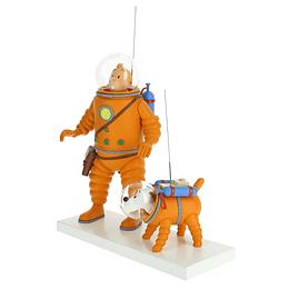 Figura Colección Tintín y Milú cosmonauta en la luna 44023 (2019)