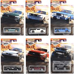 Set 6 Carros Colección  Walmart Exclusi Ford Mustang 1/64