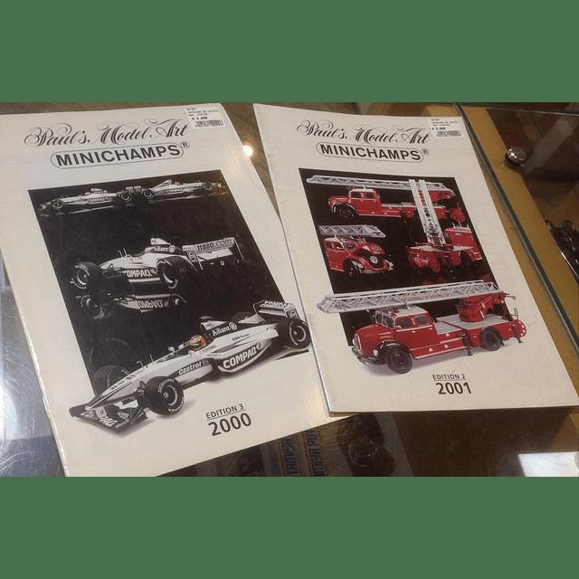 Catalogo De Coleccion Minichamps