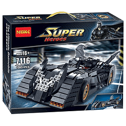 Bloques para Armar Carro Batman 7116 Super Heroes