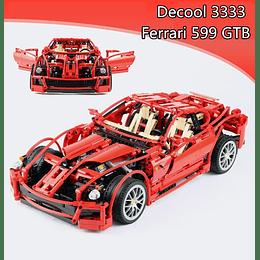 Carro Tipo Lego Ferrari 1/10 3333