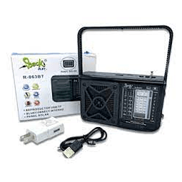 Radio FX-063BT PANEL SOLAR