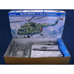 Helicoptero 1:35 Para Armar Helicopter-Mil Mi-17 Hip-H