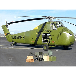 """Helicoptero 1:72 Para Armar Uh-34D """"Choctaw"""""""