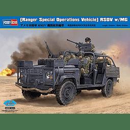 Land Rover 1:35 Para Armar Rsov W/Mg