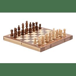 Juego de Mesa 3 En 1 Chess Set