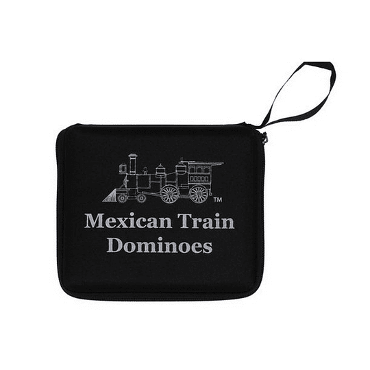Juego de Mesa Domino Double 12 Mexican Train Travel Size