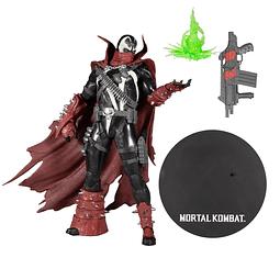 Figura Colección Mortal Kombat Commando Spawn 12 Pulgadas