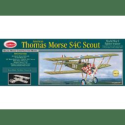 Para armar madera Avion Thomas Morse S4C Scout 1/12