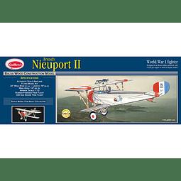 Para armar madera Avion French Nieuport Ii 1/12