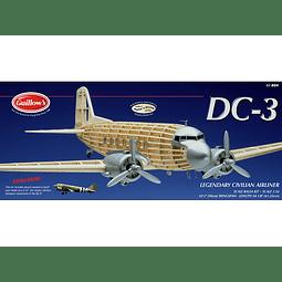 Para armar madera Douglas Dc-3 804 Balsa Mod Kit1/32