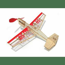 Para armar madera Models Mini Stunt Flyer /Balsa