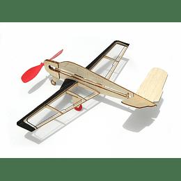 Para armar madera Models Mini V-Tail /Balsa