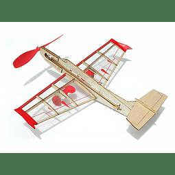 Para armar madera Models Mini Rockstar Jet/Balsa