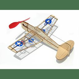 Para armar madera Models Mini Us Hellcat /Balsa