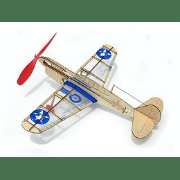 Para armar madera Models Mini Us Warhawk/ Balsa