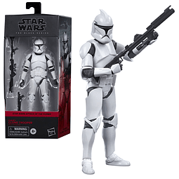 Figura Colección Star Wars The Black Series Clone Trooper (AOTC) 6-Inch Action Figure