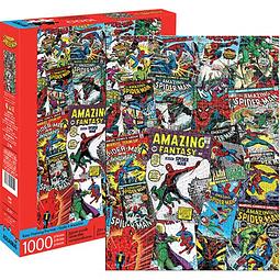 Rompecabezas Spider-Man Comic Collage 1000-Piece