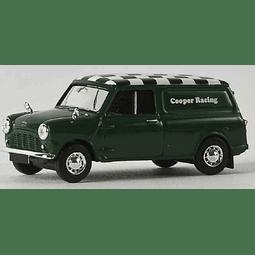 Carro Colección Austin Mini Van Cooper Racing 1/87