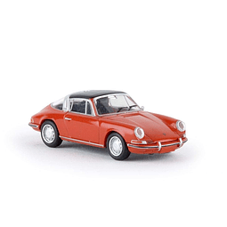 Carro Colección  Porsche 911 Targa Naranja 1/87