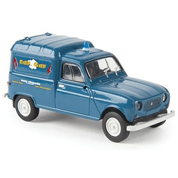 Carro Colección  1962-1988 Renault R4 Fourgonn 1/87