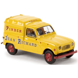 Carro Colección  Renault R4 Fourgonette Pinder 1/87