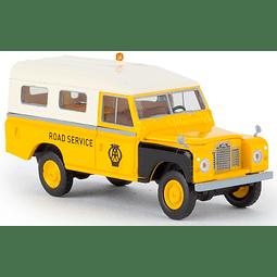 Carro Colección  Land Rover 109 Aa Road Service 1/87
