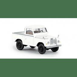 Carro Colección  Land Rover 88 Hardtop Weiss 1/87