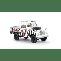 Carro Colección  Land Rover 88 Daktari 1/87