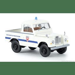 Carro Colección  Land Rover 88 Hardtop Polic Crs1/87