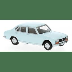 Carro Colección  Peugeot 504 Hellblau 1/87