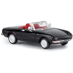 Carro Colección  Alfa Romeo Spider Nero 1/87