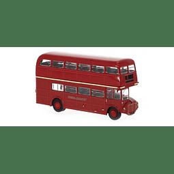 Carro Colección Bus dos pisos AEC Routemaster Londres 1/87