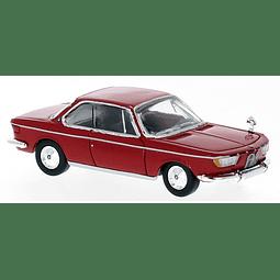 Carro Colección  Bmw 2000 Cs Rot 1965  1/87
