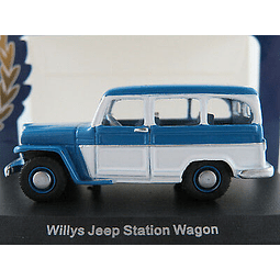 Carro Colección  Jeep Willys Station Wagon 1954 1/87