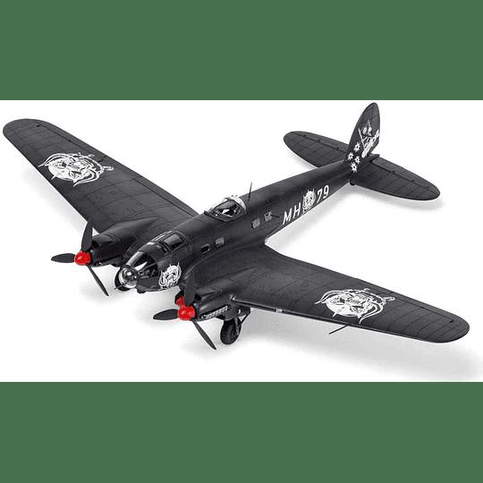 Para armar Avion Heinkel He111 Motörhead Bomber Special 1/72