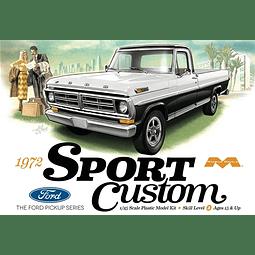 Para armar 1972 Ford Sport Custom Pickup 1/25