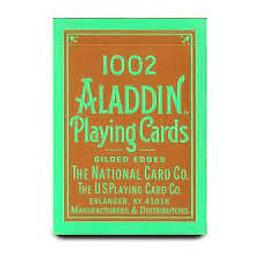 Bicycle Aladdin Poker Glided 1002