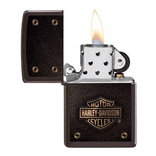 Encendedor Zippo Harley Davidson Cafe Escudo – Cod 49466