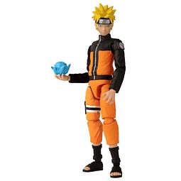 Figura Colección Bandai Uzumaki Naruto Action Figure