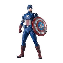 Figura Colección  Captain America Avengers Assemble Edition S.H.Figuarts