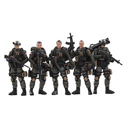 Figura Colección Joy Toy Pla Army Anti-Terrorism Unit 1:18