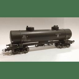 Vagón cisterna del ejercito de USA 1/87 H0